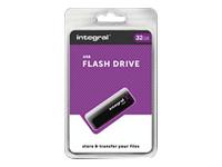 Integral Europe Clés USB INFD32GBBLK.