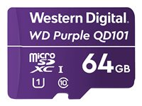 WD Purple SC QD101 WDD064G1P0C - Tarjeta de memoria flash - 64 GB