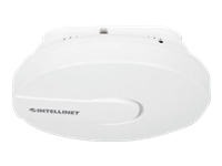 Intellinet High-Power Ceiling Mount Wireless 300N PoE Access Point