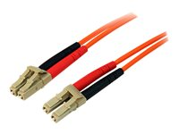 STARTECH - CABLE StarTech.com Multimode 50/125 Duplex Fiber Patch Cable LC50FIBLCLC10