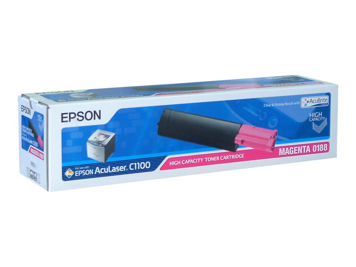 Epson 0188 - haute capacité - magenta - originale - cartouche de toner