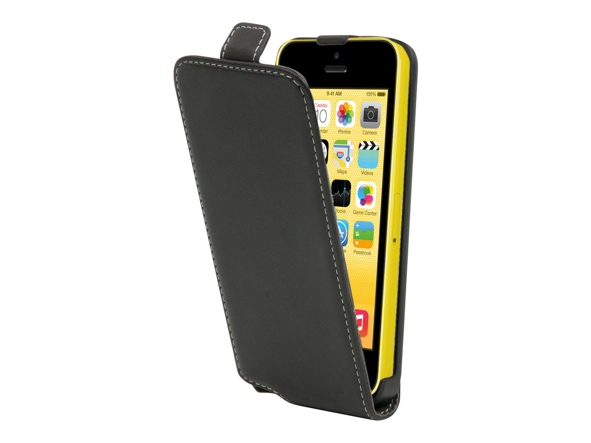 Muvit Slim - Coque de protection pour iPhone 5c - noir