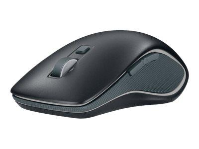 Logitech M560 - souris - USB - noir