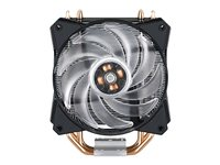 Cooler Master MasterAir MA410P - Disipador para procesador - (para: LGA1156, AM2, AM2+, LGA1366, AM3, LGA1155, AM3+, LGA2011, FM1, FM2, LGA1150, FM2+, LGA2011-3, LGA1151, AM4, LGA2066)