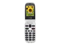 Doro PhoneEasy 6030 - blanc, graphite - GSM - téléphone mobile