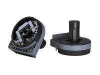Epson - Media roll adapter set v2 - for SureColor SC-T3000, SC-T3200, SC-T5000, SC-T5200, SC-T7000, SC-T7200, T3270, T5270, T7270
