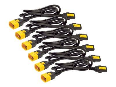 APC Power Cord Kit (6 ea) Locking C13 to C14 1.2m