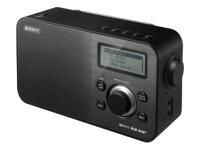 Sony XDR-S60DBP DAB bærbar radio sort