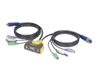 IOGEAR MiniView Micro Audio KVM Switch GCS612A