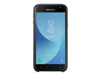 Samsung Dual Layer Cover EF-PJ330 Bagomslag til mobiltelefon sort