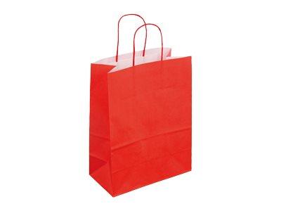 logistipack 50 sacs cadeaux kraft extensible 23 cm x 12 cm x 30 cm diff rents coloris. Black Bedroom Furniture Sets. Home Design Ideas