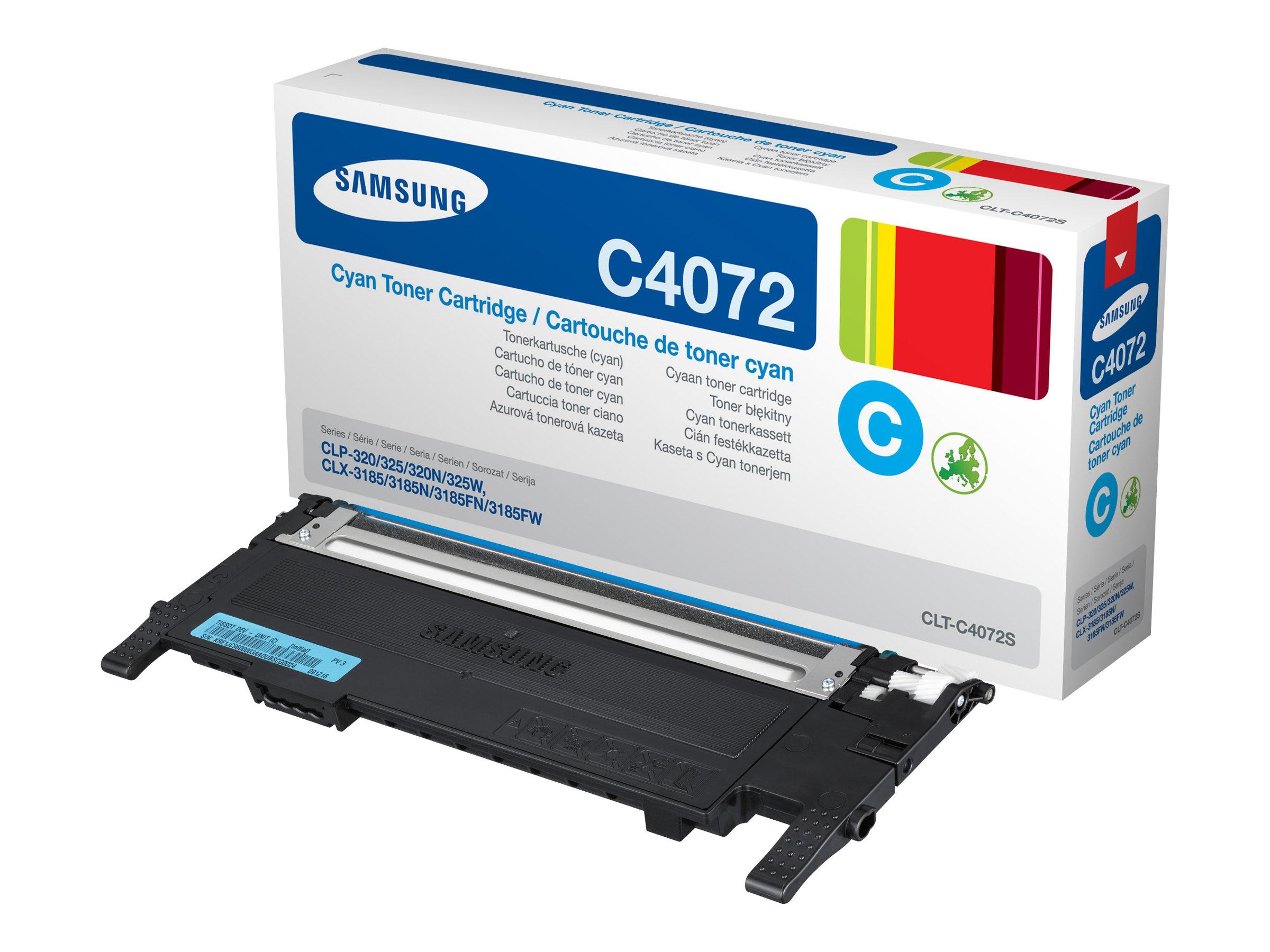 Samsung CLT-C4072S - cyan - originale - cartouche de toner