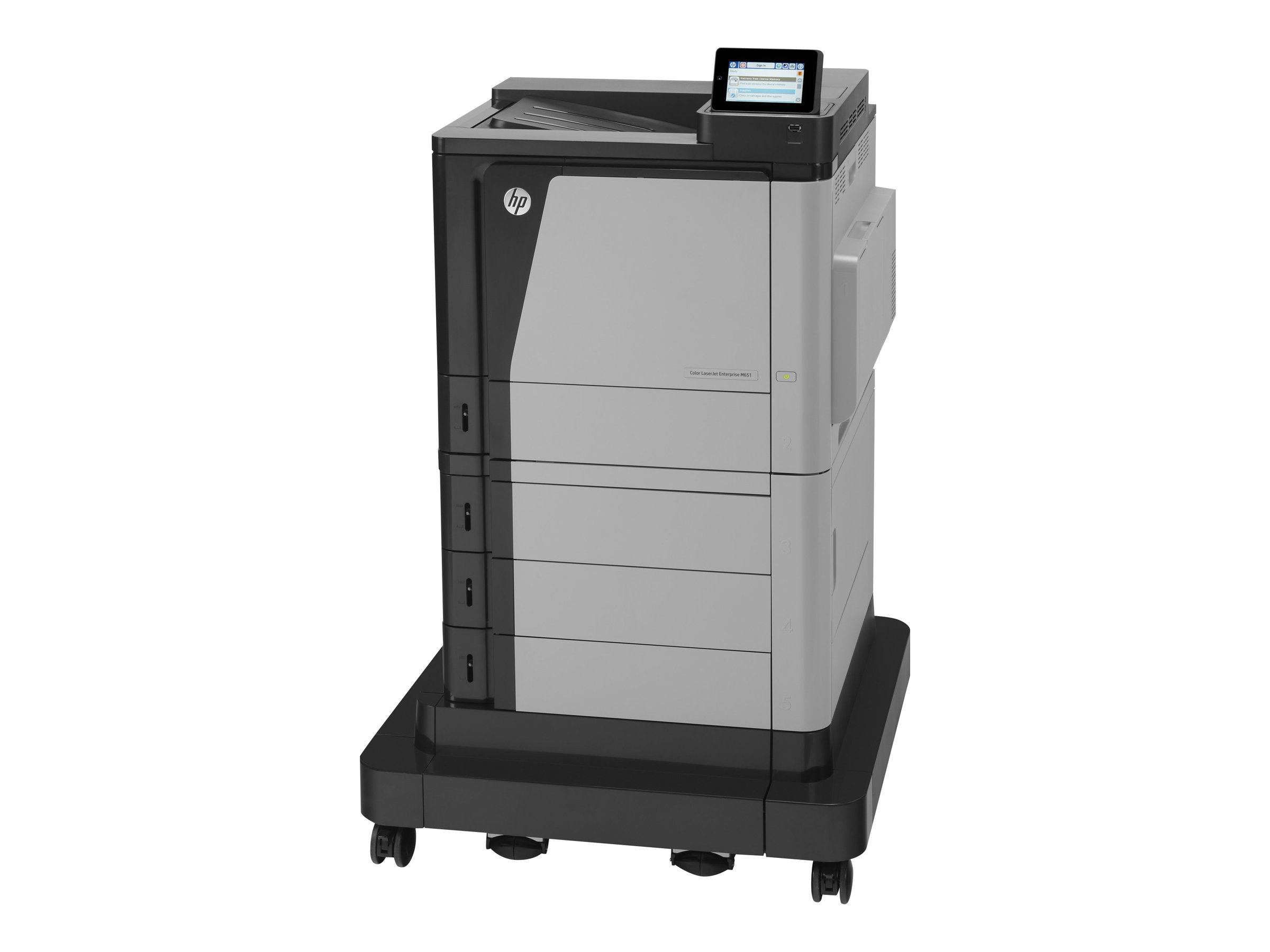 HP Color LaserJet Enterprise M651xh - imprimante - couleur - laser