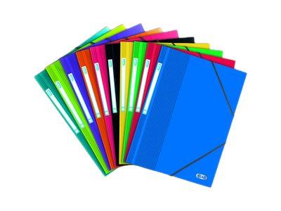 ELBA School Life - Chemise à 3 rabats - A4 - translucide, disponible dans différentes couleurs