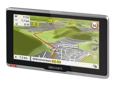 Becker Active .6s - EU plus - GPS navigace - automobil 6.2 palec širokoúhlá obrazovka