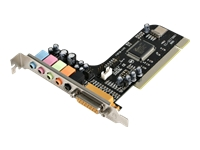 StarTech.com 5 Channel PCI Sound Adapter Card with AC97 3D Audio Effects