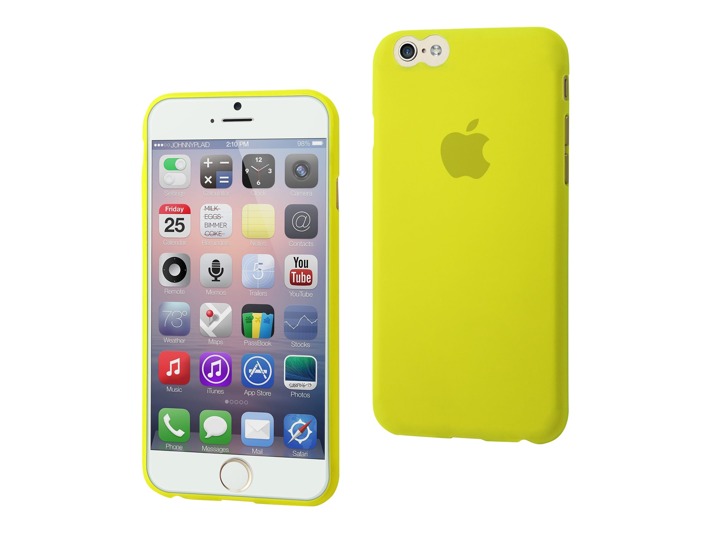 Muvit thingel - Coque de protection pour iPhone 6 - vert pomme
