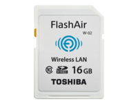 Toshiba FlashAir II - Wireless memory card - 16 GB