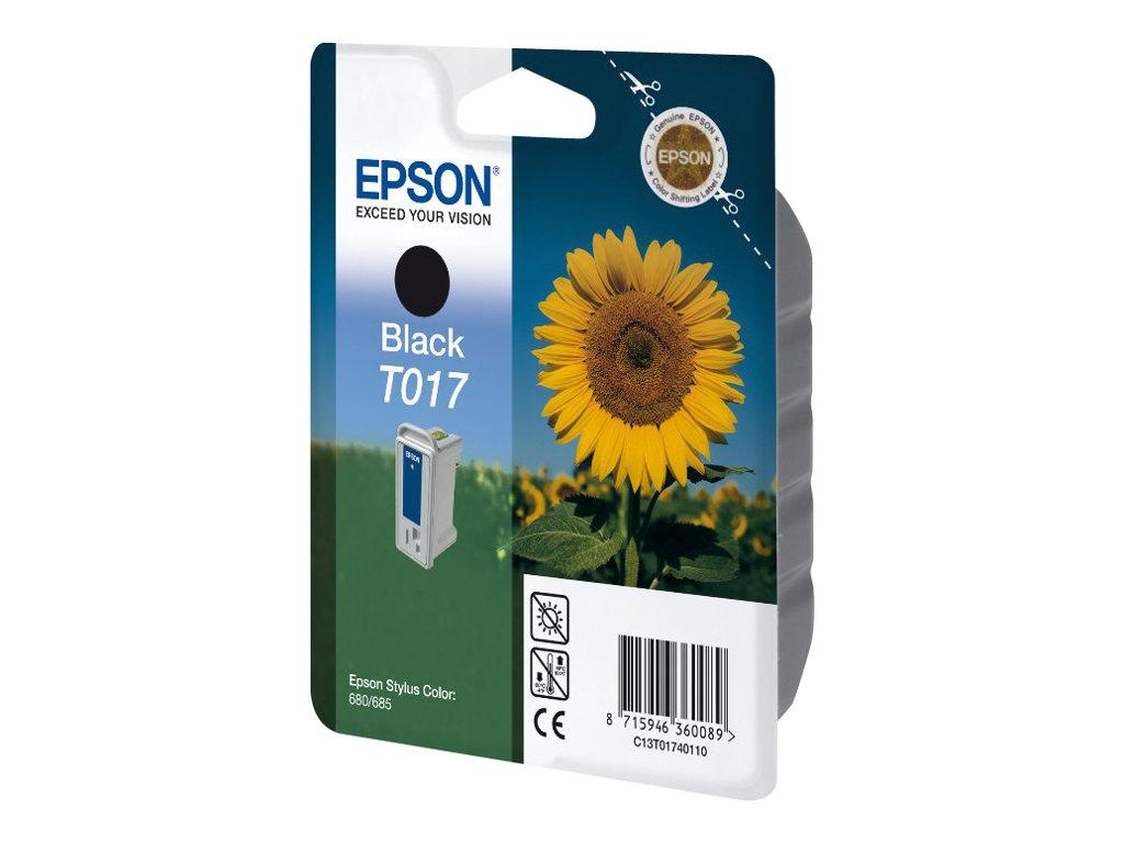 Epson T017 - noir - originale - cartouche d'encre