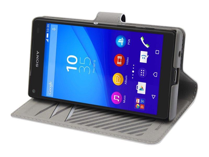 Muvit MFX slim s folio - Protection à rabat pour Sony XPERIA Z5 Compact - blanc