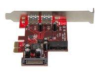 StarTech.com Cartes PEXUSB3S2EI
