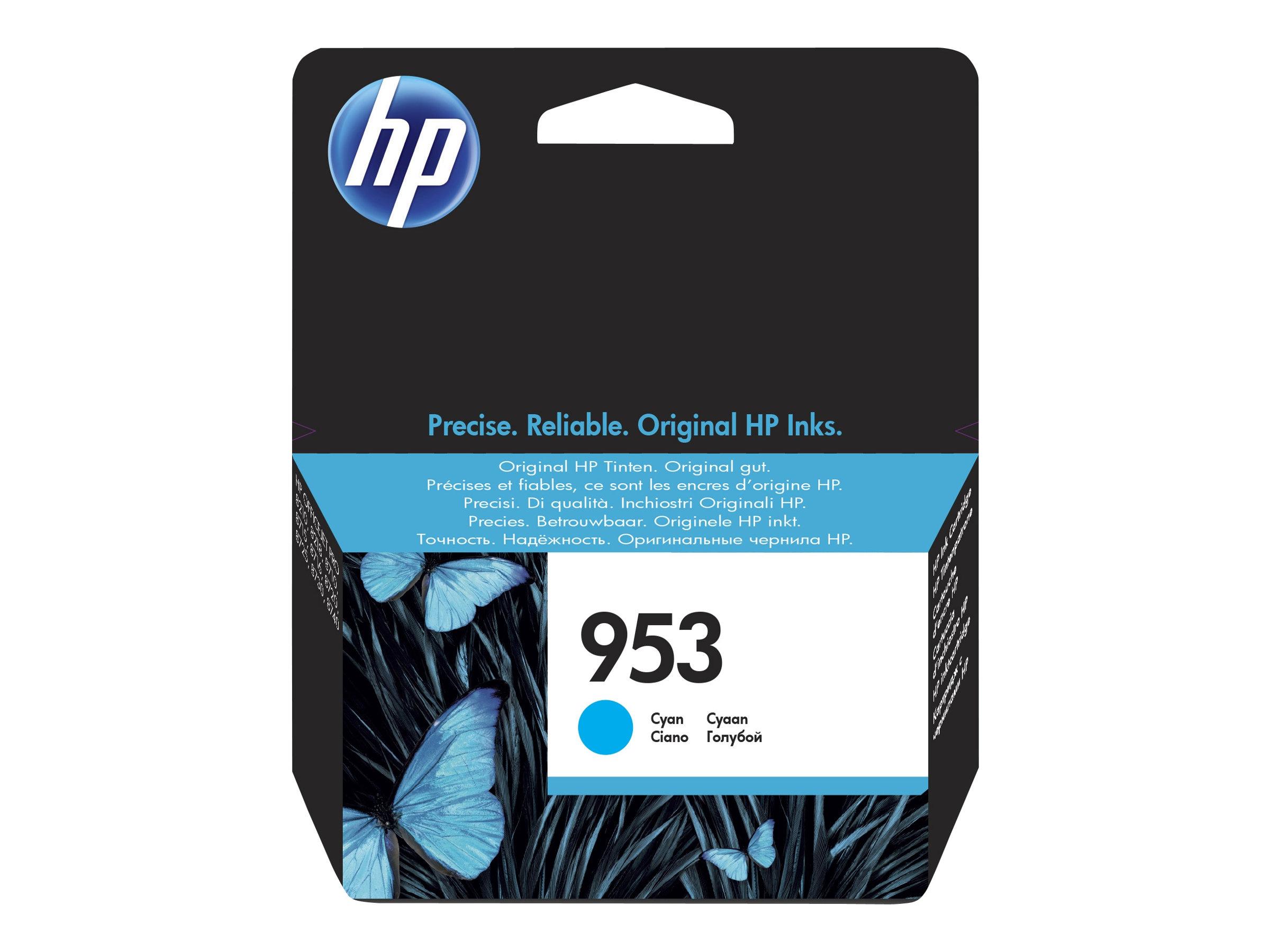 HP 953 - cyan - originale - cartouche d'encre
