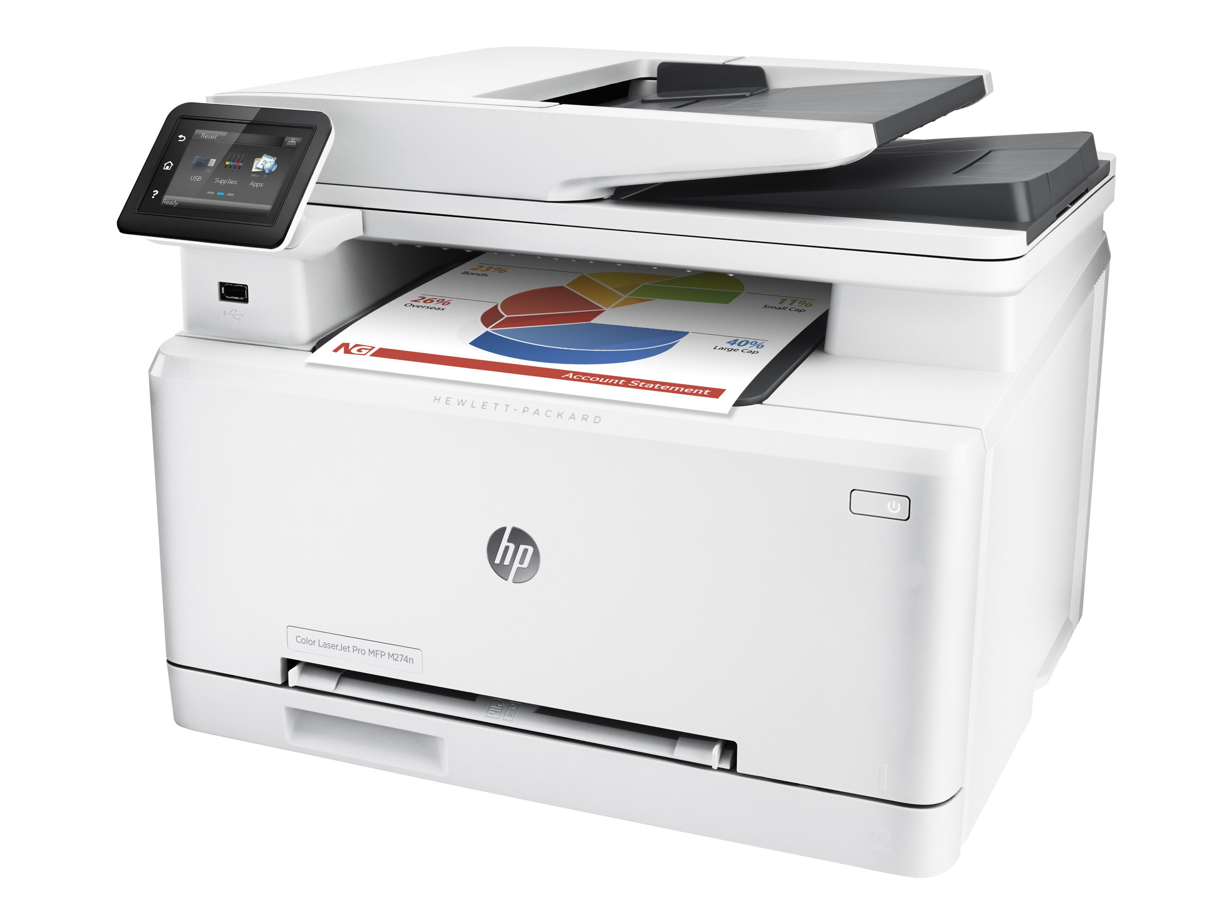 HP LaserJet Pro MFP M274n - imprimante multifonctions (couleur)
