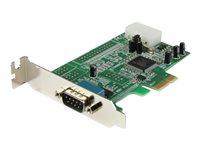 StarTech.com Tarjeta Adaptadora PCI Express Perfil Bajo de un Puerto Serial RS232 DB9 UART 16550 (PEX1S553LP) - Adaptador serie - PCIe perfil bajo