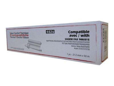 Lama France - Noir - 212 mm x 48 m - ruban d'impression - TTR900