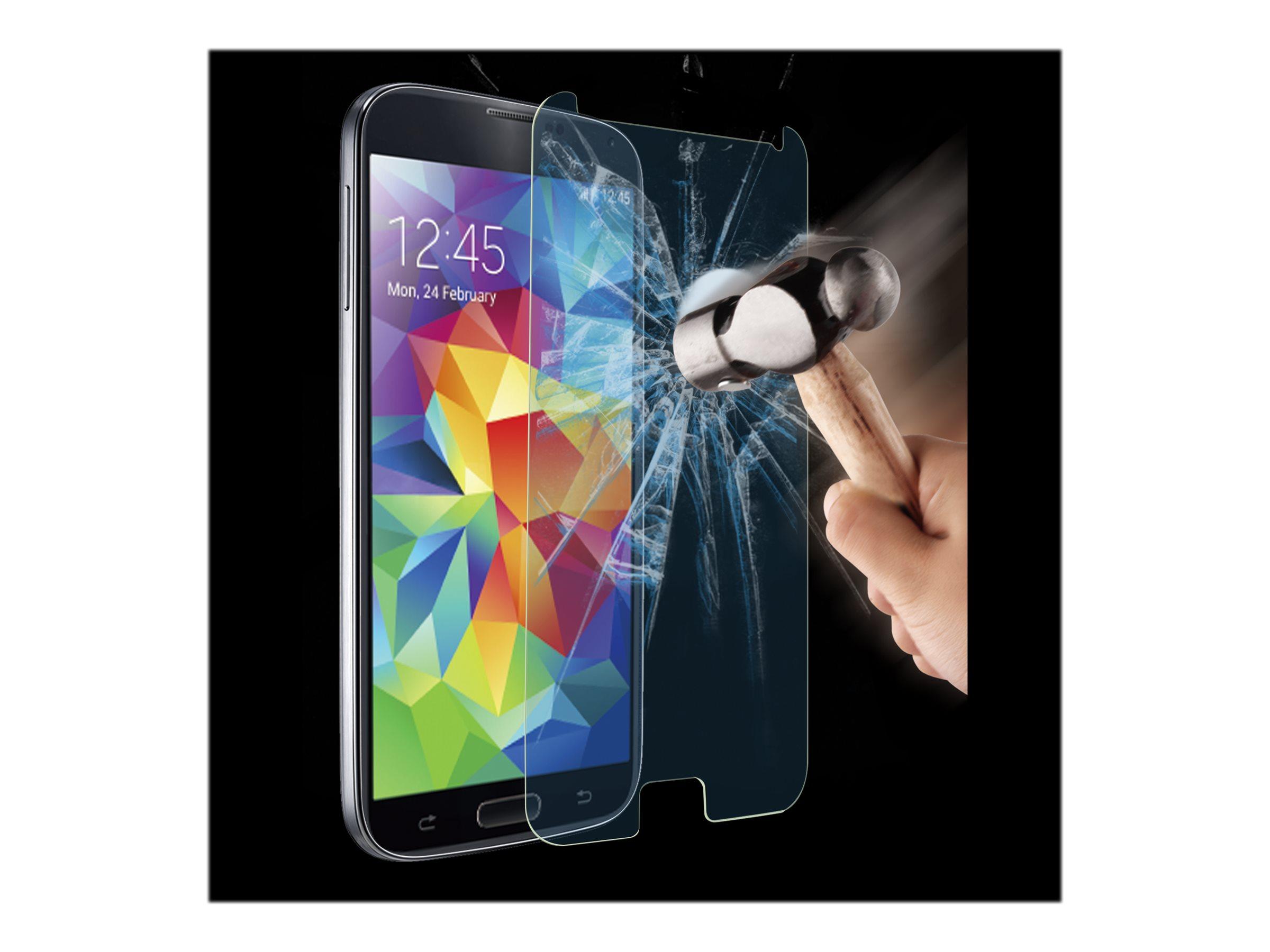 Muvit - 1 film de protection d'écran - verre trempé - pour Samsung GALAXY S5