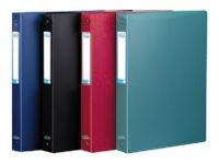 ELBA memphis Tradition - Classeur à anneaux - 20 mm - 17 x 22 cm - pour 60 feuilles - disponible dans différentes couleurs