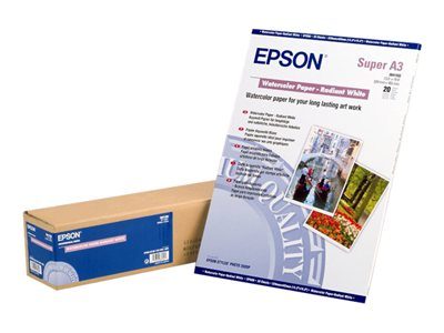 Epson - papel para acuarela - 20 hoja(s)