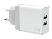 Chill Innovation Dual Strømforsyningsadapter 3.4 A