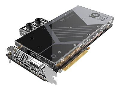 ZOTAC GeForce GTX 1080 ArcticStorm Thermaltake - 10 Year Anniversary Edition - grafická karta - GF GTX 1080 - 8 GB GDDR5X - PCIe 3.0 - DVI, HDMI, 3 x DisplayPort