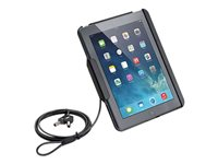 Tryten iPad Lock & Stand - Stand for tablet - lockable - polycarbonate, rubber - black - for Apple iPad mini 2; 3; 4
