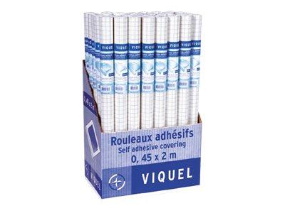 Viquel - Rouleau pour couverture de livre - 45 cm x 2 m