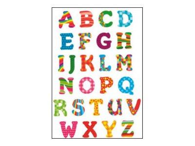 Oberthur Fantaisie Alphabet 1 - adhésif décoratif