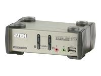 ATEN MasterView CS1732B KVMP Switch - commutateur écran-clavier-souris/audio/USB - 2 ports - Ordinateur de bureau