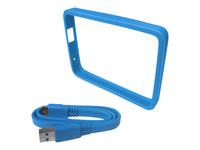 WD Grip Pack WDBFMT0000NBL Beskytter til ekstern harddisk himmel