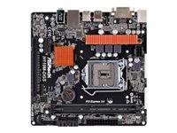 ASRock H110M-DGS 3.0 bundkort micro-ATX LGA1151 Socket H110 USB 3.0