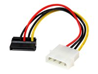 StarTech.com 4 Pin Molex to Left Angle SATA Power Cable Adapter