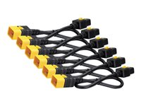 APC Power Cord Kit (6 ea) Locking C19 to C20 1.2m