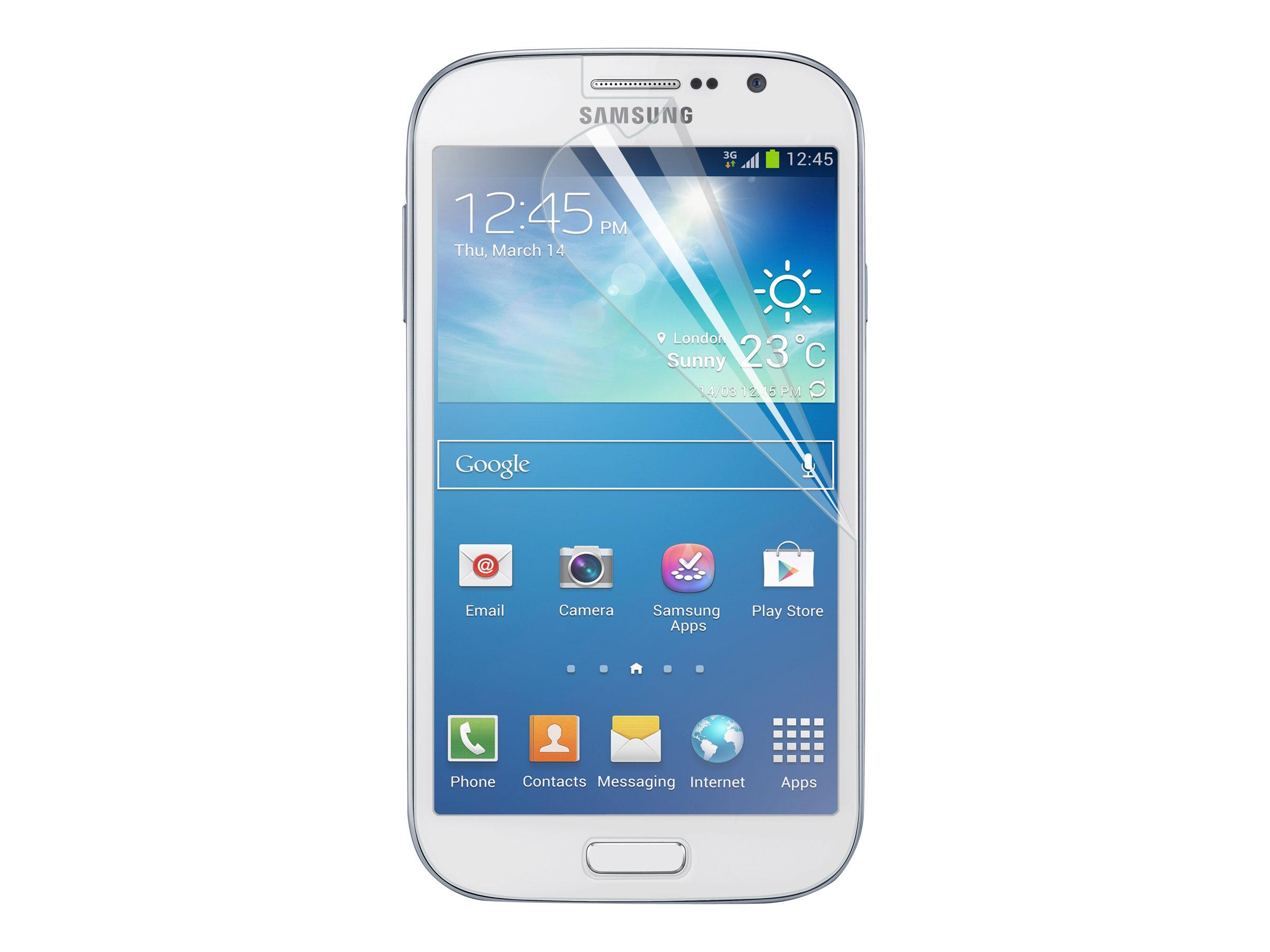 Muvit - 2 films deprotection pour écran - pour Samsung Galaxy Grand Lite, Grand Neo
