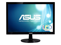 "ASUS VS197DE LED-skærm 18.5"" (18.5"" til at se) 1366 x 768 200 cd/m²"