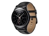 Samsung Gear S2 Classic - noir - montre intelligente avec noir bande - 4 Go