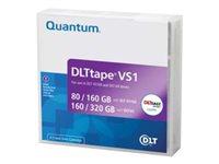 Cinta de datos Quantum DLTtape VS1 DLT (80GB/160GB) DLT-VS160