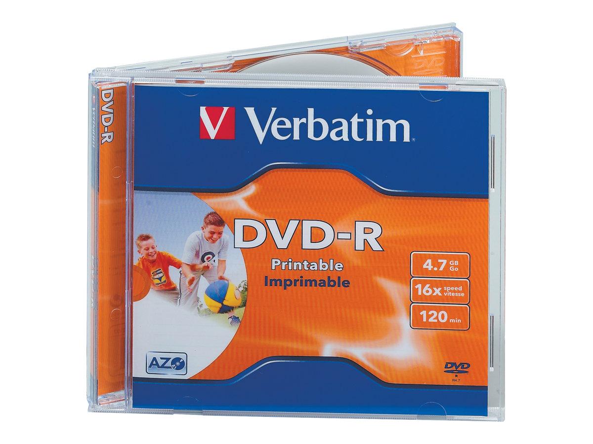 Verbatim - DVD-R x 10 - 4.7 Go - support de stockage