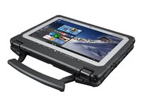 "Panasonic Toughbook 20 - Tablet - with keyboard dock - Core m5 6Y57 / 1.1 GHz - Win 10 Pro - 8 GB RAM - 512 GB SSD - 10.1"" IPS touchscreen 1920 x 1200 - HD Graphics 515 - Wi-Fi, Bluetooth - rugged - with Toughbook Preferred"
