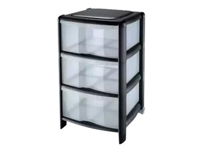 cep tour de rangement 3 tiroirs foolscap modules de classement. Black Bedroom Furniture Sets. Home Design Ideas