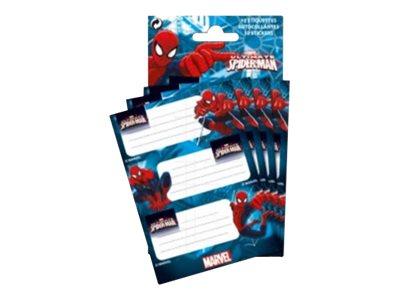 ALPA Spiderman New York - étiquette